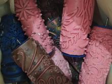 فروش غلطک طرحدار رنگ کاغذ دیواری در شیپور