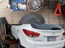 تراش دیسک ترمز روی خودرو(درجا) در شیپور