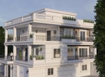 خدمات فنی مهندسی ساختمان نقشه کشی طراحی خانه دوبلکس در شیپور-عکس کوچک