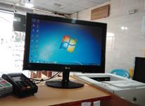 منشی خانم مسلط به کامپیوتر در شیپور-عکس کوچک