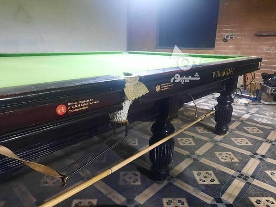 چند لاین خط بولینگ و میز بیلیارد و اسنوکر در حد نو در گروه خرید و فروش ورزش فرهنگ فراغت در قم در شیپور-عکس6