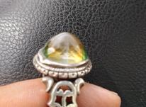 انگشتر نقره رکاب دست ساز وزن 14گرم در شیپور-عکس کوچک