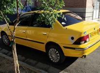 تاکسی سمند 84 برون شهری در شیپور-عکس کوچک