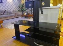 میز تلویزیون شیشه ای با پایه تلویزیون در شیپور-عکس کوچک