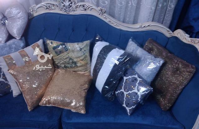 کوسن شیک فانتزی پولکی خز چاپی بال فرشته در گروه خرید و فروش لوازم خانگی در تهران در شیپور-عکس1