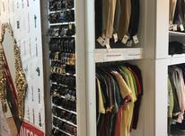 فروش دکور کامل مغازه لباس فروشی مانکن چوب لباسی در شیپور-عکس کوچک