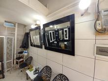 ویترین آرایشگاه مردانه در شیپور