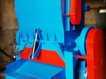 دستگاه اسیاب کن ضایعات پت نایلون سبد لاک قلمبه پلاستیک لاک در شیپور