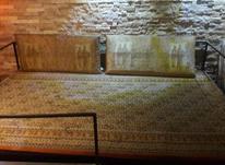تخت فلزی مناسب باغچه در شیپور-عکس کوچک