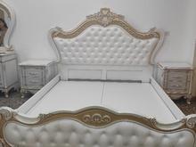 تخت خواب و میز ارایش و دو پاتختی در شیپور