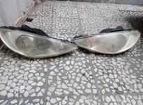 چراغ جلو 206  در شیپور-عکس کوچک