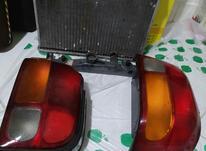 چراغ خطر عقب پراید، رادیاتور پراید در شیپور-عکس کوچک