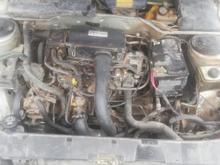 پژو مدل 87 تصادفی در شیپور