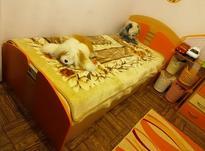 تخت تکنفره و کمد شرکتی آپادانا + تشک رویال آسایش+ گلیم فرش در شیپور-عکس کوچک