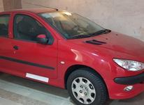 پژو 206 مدل 97 قرمز رژی در شیپور-عکس کوچک