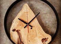 ساعت دیواری چوبی در شیپور-عکس کوچک
