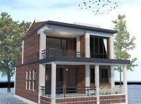 نقشه کشی ساختمان طراحی معماری نما سه بعدی تری دی رندر در شیپور-عکس کوچک