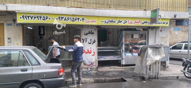 21 متر مغازه دو دهنه در یکباب بر خ اصلی در گروه خرید و فروش املاک در تهران در شیپور-عکس1