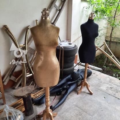 مانکن اندامی و پایه چوبی در گروه خرید و فروش صنعتی، اداری و تجاری در گیلان در شیپور-عکس1