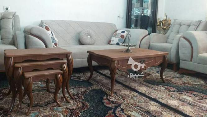 میز جلو مبلی با پایه های مخروطی تمام چوب در گروه خرید و فروش خدمات و کسب و کار در تهران در شیپور-عکس2