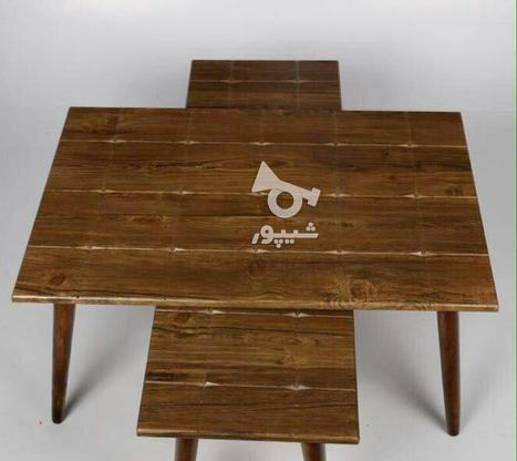 میز جلو مبلی با پایه های مخروطی تمام چوب در گروه خرید و فروش خدمات و کسب و کار در تهران در شیپور-عکس6