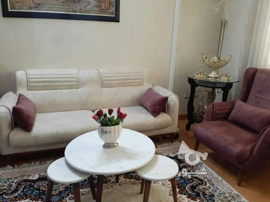 میز جلو مبلی با پایه های مخروطی تمام چوب در گروه خرید و فروش خدمات و کسب و کار در تهران در شیپور-عکس8