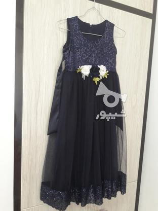 سارافن دخترانه رنگ سورمه ای ،استفاده نشده در گروه خرید و فروش لوازم شخصی در آذربایجان غربی در شیپور-عکس2