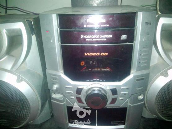 یک عدد ضبط وباند 5دیکس پاناسونیک در گروه خرید و فروش لوازم الکترونیکی در خراسان رضوی در شیپور-عکس1