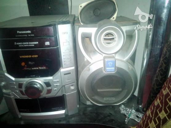 یک عدد ضبط وباند 5دیکس پاناسونیک در گروه خرید و فروش لوازم الکترونیکی در خراسان رضوی در شیپور-عکس2