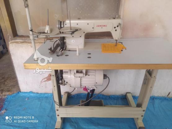 چرخ خیاطی راسته دوزی در گروه خرید و فروش صنعتی، اداری و تجاری در همدان در شیپور-عکس2