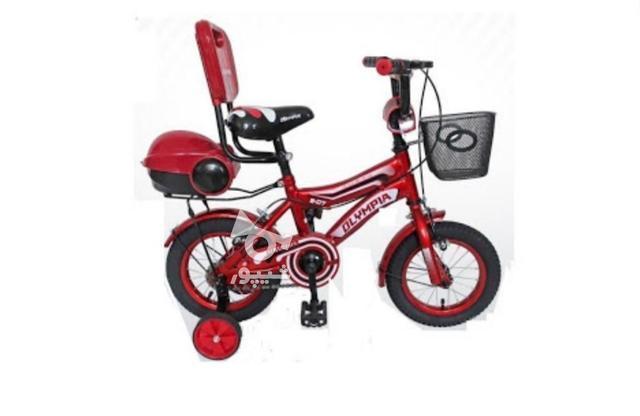 دوچرخه قرمز بچگانه در گروه خرید و فروش ورزش فرهنگ فراغت در تهران در شیپور-عکس1