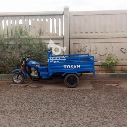موتور سه چرخ توسن مدل 1390 در گروه خرید و فروش وسایل نقلیه در قم در شیپور-عکس1