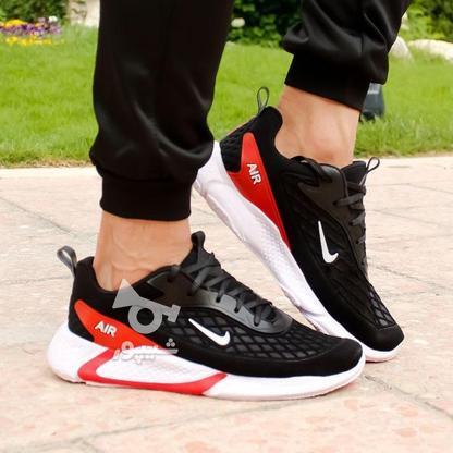 کفش مردانه Nike مدل Ruppo (مشکی سفید و مشکی قرمز) در گروه خرید و فروش لوازم شخصی در تهران در شیپور-عکس3