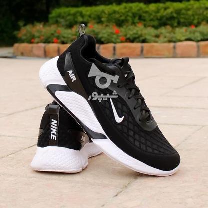 کفش مردانه Nike مدل Ruppo (مشکی سفید و مشکی قرمز) در گروه خرید و فروش لوازم شخصی در تهران در شیپور-عکس4