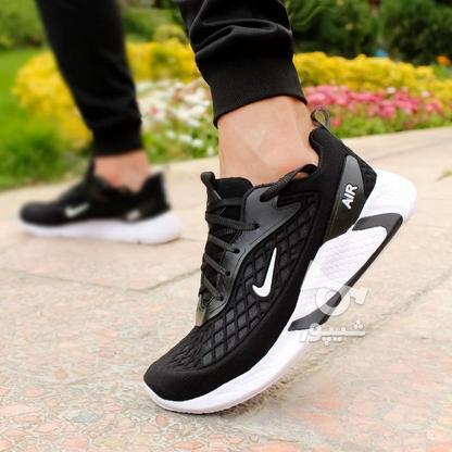کفش مردانه Nike مدل Ruppo (مشکی سفید و مشکی قرمز) در گروه خرید و فروش لوازم شخصی در تهران در شیپور-عکس5