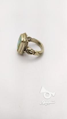 انگشتر نقره 925 رکاب قاجاری وزن 16 گرم در گروه خرید و فروش لوازم شخصی در تهران در شیپور-عکس2