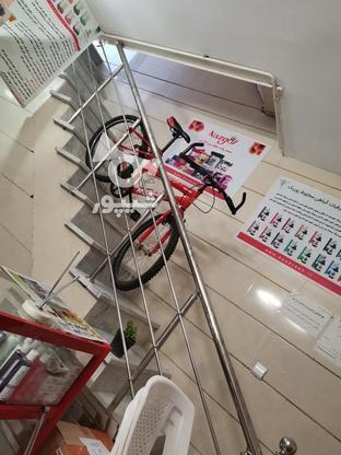 دوچرخه بسیار خوب مارک بونیتو کاملا تمیز در گروه خرید و فروش ورزش فرهنگ فراغت در قزوین در شیپور-عکس1