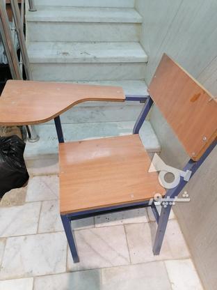 صندلی دسته دار دانش اموزی در گروه خرید و فروش صنعتی، اداری و تجاری در یزد در شیپور-عکس2