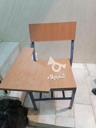 صندلی دسته دار دانش اموزی در گروه خرید و فروش صنعتی، اداری و تجاری در یزد در شیپور-عکس1