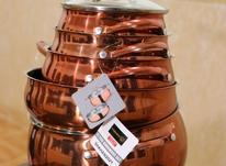 سرویس قابلمه مسی کورکماز 12 پارچه در شیپور-عکس کوچک