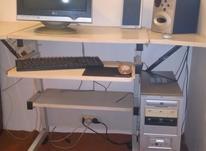 کامپیوتر کامل با میز در شیپور-عکس کوچک