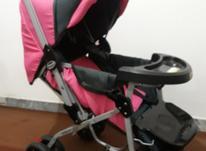 کالسکه نوزاد در حد نو سالم بدون ایراد در شیپور-عکس کوچک