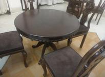 میز لهستانی چوب راش در شیپور-عکس کوچک