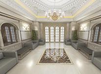 طراحی لابی داخلی نما تری دی در شیپور-عکس کوچک