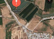 100 متر زمین در پشت مارمیشو جاده انهر در شیپور-عکس کوچک