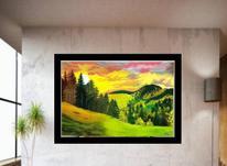 تابلوهای رنگ روغن بسیار زیبا در شیپور-عکس کوچک