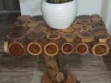 میز عسلی چوبی در شیپور