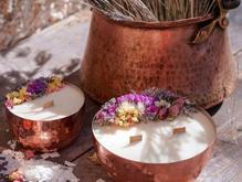 ساخت شمع با طرح و اسانس دلخواه شما در شیپور