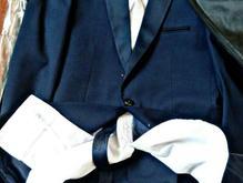 کت شلوار آبی دامادی و مراسم در شیپور