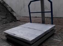 ترازو باسکول دیجیتال 500 کیلویی کفه 80*80 چرخدار در شیپور-عکس کوچک